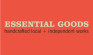 Essential Goods ColorLogo_RedBackgroundLG