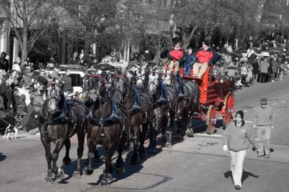 25th Annual Lawrence Old-Fashioned Christmas Parade