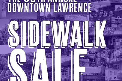 58th Annual Downtown Lawrence Sidewalk Sale