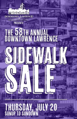 58th Annual Downtown Lawrence Sidewalk Sale