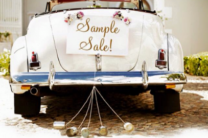 J. Lynn Bridal White December 50% Off Sample Dress Sale