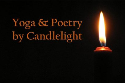 Yoga and Poetry by Candlelight