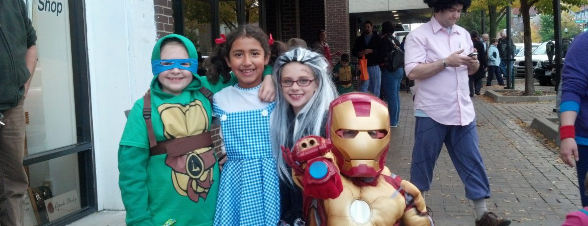 Halloween Trick or Treating!