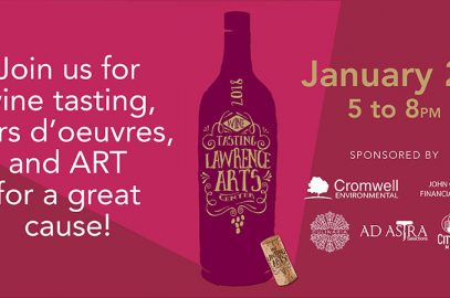 Ad Astra Wine Tasting at Lawrence Arts Center
