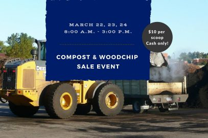 Spring Compost and Wood Chip Sale