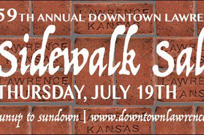 59th Annual Downtown Lawrence Sidewalk Sale