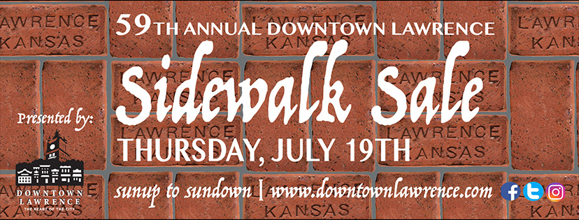 59th Annual Downtown Lawrence Sidewalk Sale
