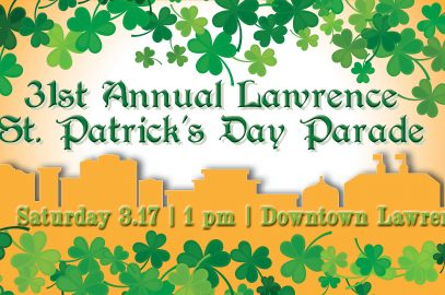 31th Annual Lawrence St. Patrick's Day Parade
