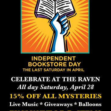 Independent Bookstore Day at the Raven
