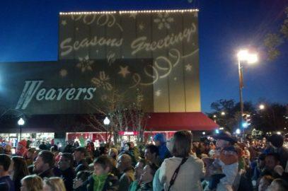 Holiday Lighting Ceremony & Santa Rescue