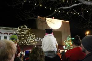 Santa in the spotlight