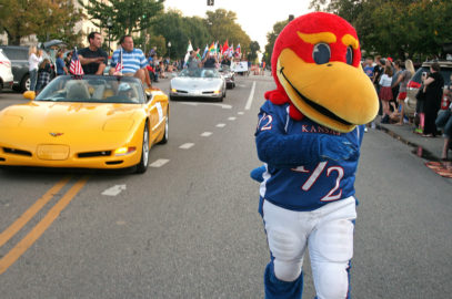 KU Homecoming Parade