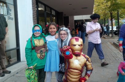 Halloween Trick-or-Treating!