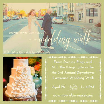 3rd Annual Downtown Lawrence Wedding Walk