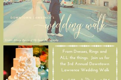 3rd Annual Downtown Lawrence Wedding Walk