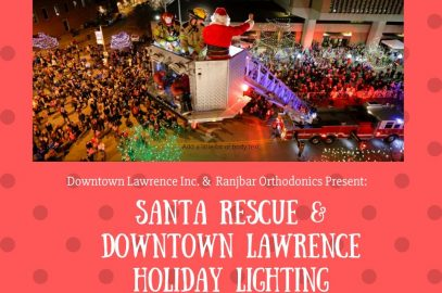 Santa Rescue & Holiday Lighting Ceremony