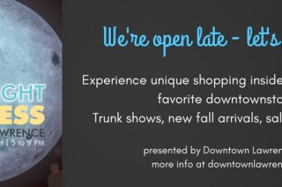Moonlight Madness: A Downtown Shopping Event