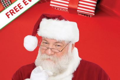 Free Holiday Photos with Santa