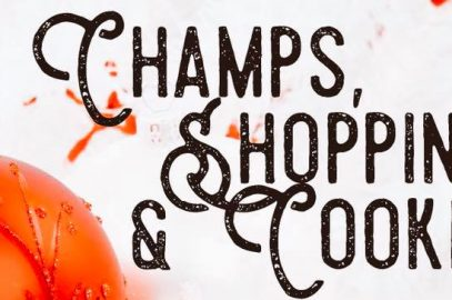 Champs & Shopping & Cookies at KB & Co.