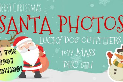 Santa Photos at Lucky Dog Outfitters