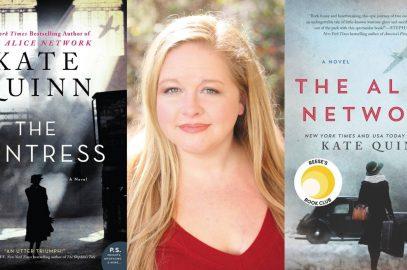 """Raven Book Chats at the Watkins: Kate Quinn, """"The Huntress"""""""