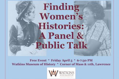 Finding Women's Histories: A Panel & Public Talk