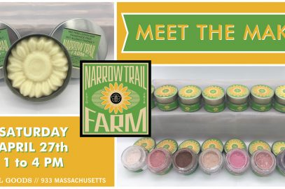 Narrow Trail Farm // Meet The Maker series at Essential Goods