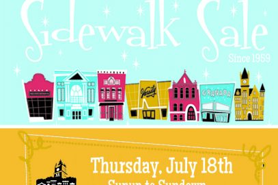 60th Annual Downtown Lawrence Sidewalk Sale