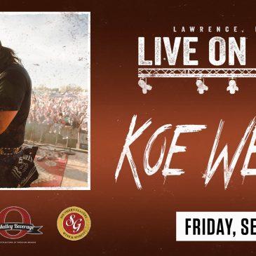 LiveOnMass Presents: Koe Wetzel