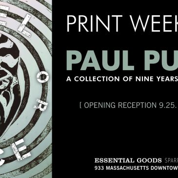 PRINT WEEK 2019: Paul Punzo // A Collection of Nine Years of Printmaking