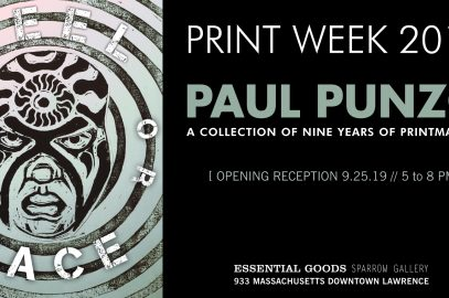 PRINT WEEK 2019: Paul Punzo // A Collection of Nine Years of Printmaking