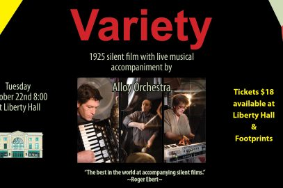 Footprints presents: Variety (1925) with Alloy Orchestra Movie@Liberty Hall