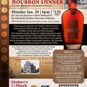 Maker's Mark Bourbon Dinner @ The Eldridge