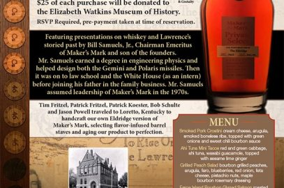 Maker's Mark Bourbon Dinner @ The Eldridge
