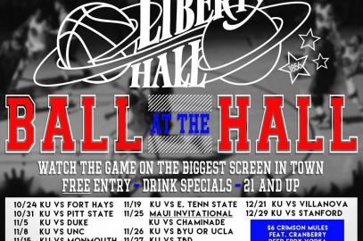 Ball at the Hall- KU Watch Party