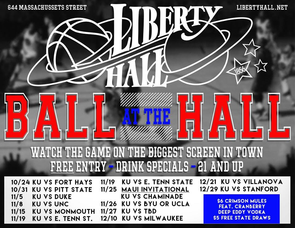 Liberty Hall Ball at the Hall
