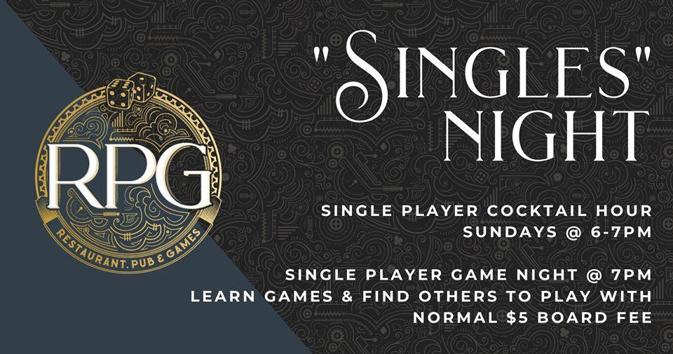 RPG Singles Night