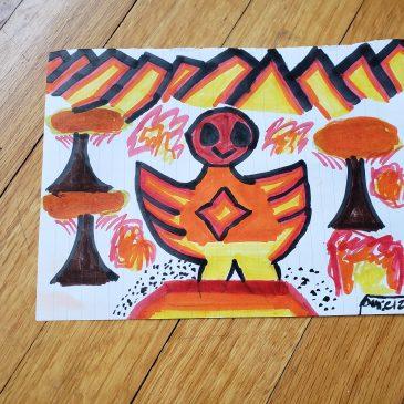 Phoenix Rising Art Challenge