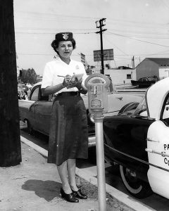 Parking meter and reader