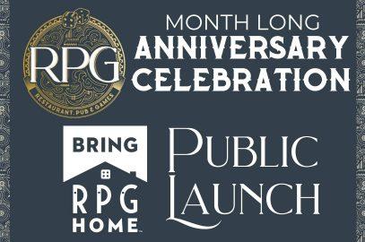 RPG 1 Year Anniversary Celebration Events