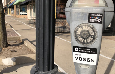 Mobile parking payments in Downtown Lawrence + How-To Videos